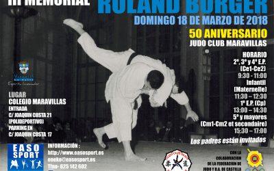 III Memorial Roland Burger