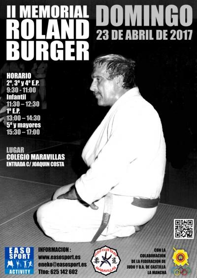 II Memorial Roland Burger